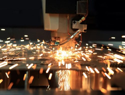 Behind the Scenes: Watch an Industrial Laser Cutting Metal
