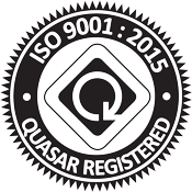 ISO 9001:2015 Quasar Registered